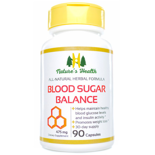 Blood Sugar Balance Glucose Support