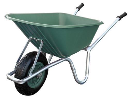 Big Mucker 100 Ltr / 120 Kg Wheelbarrow   Green