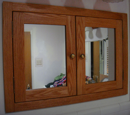 Etonnant Double Door, Shaker Style, Recessed Medicine Cabinet, Unfinished Poplar