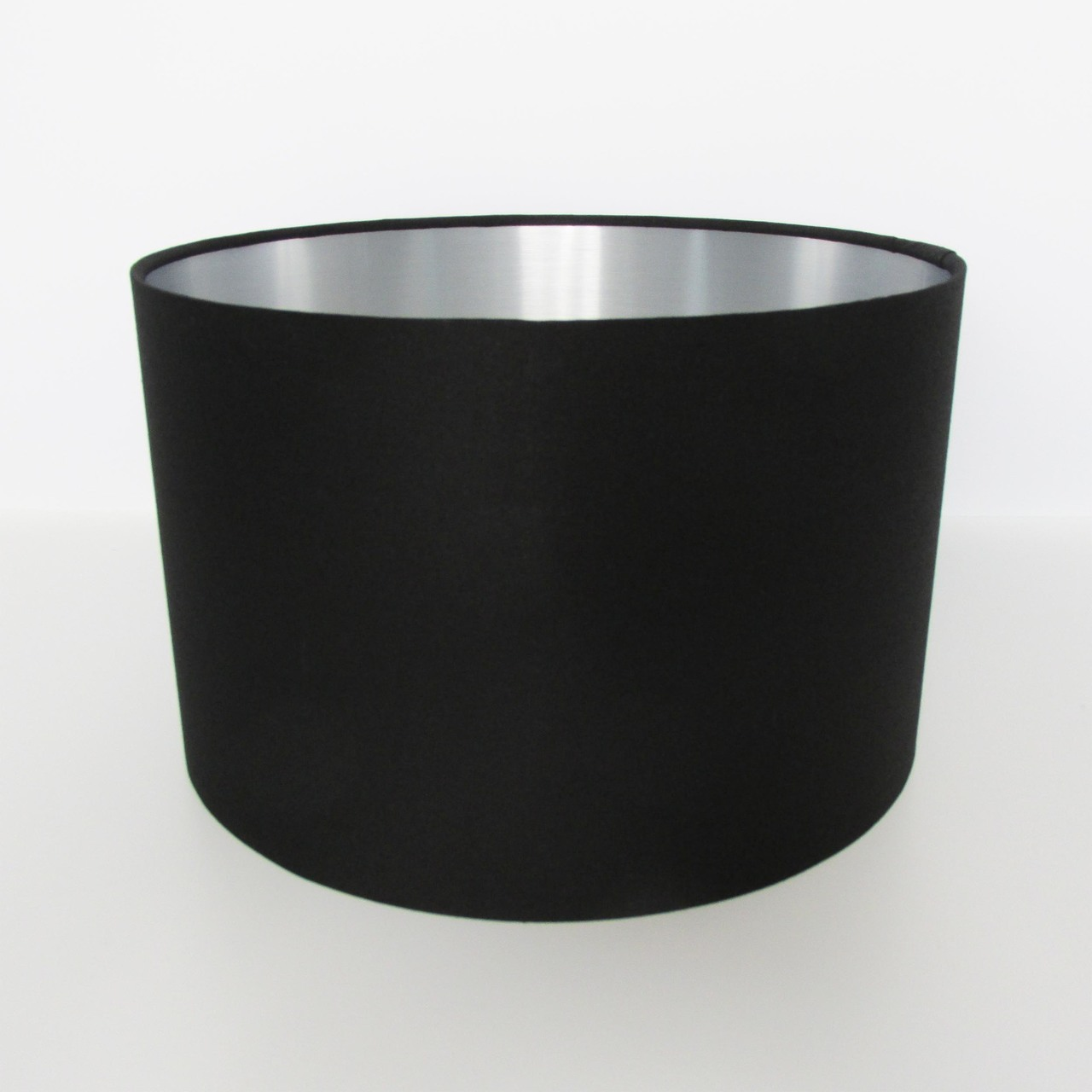 Black and Silver Lampshade