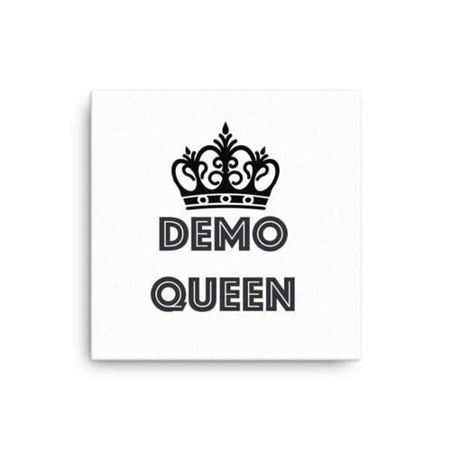 Demo Queen Canvas
