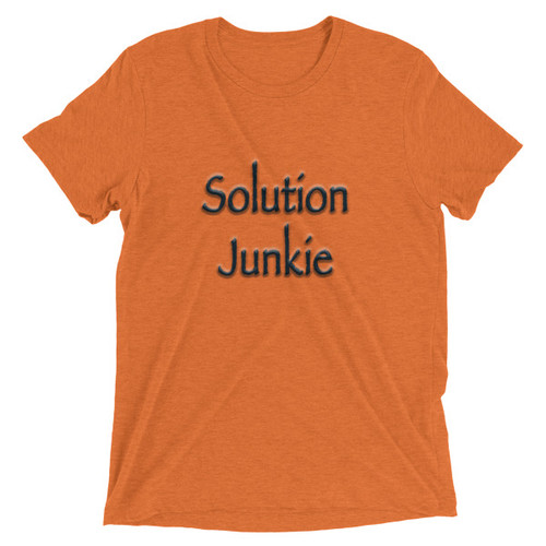 Solution Junkie - Short sleeve t-shirt