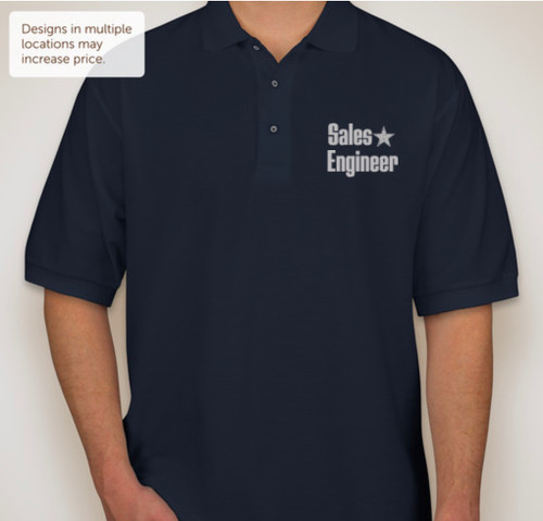 Sales Engineer Star - Port Authority Silk Touch Polo