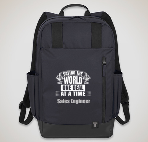 "Saving The World - Tranzip 15"" Computer Backpack"