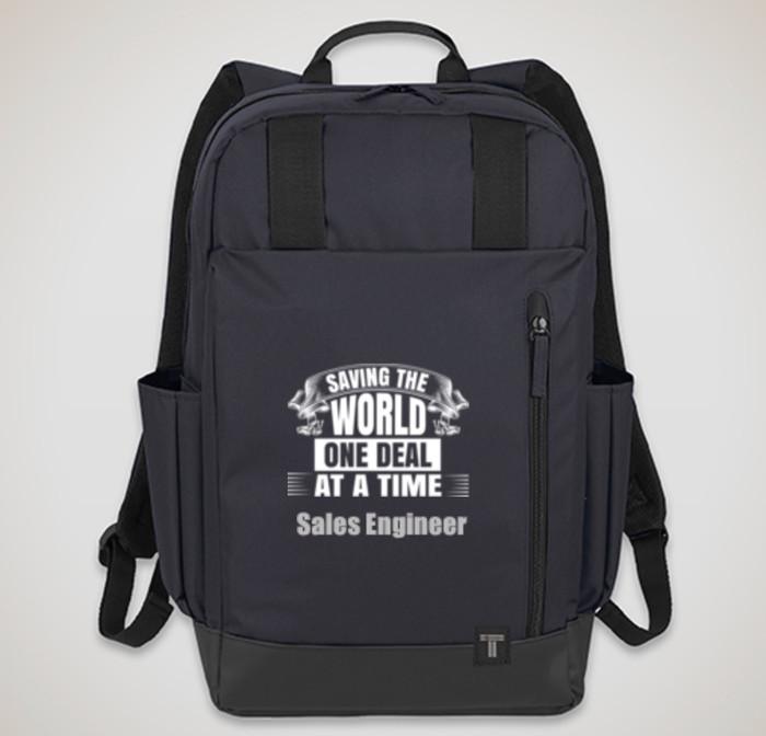 "Saving The World - Tranzip 15"" Computer Backpack"
