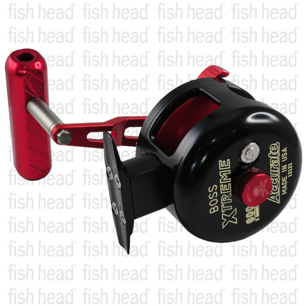 Accurate Mutant GT 600XNN- Right Hand- Blk/Red