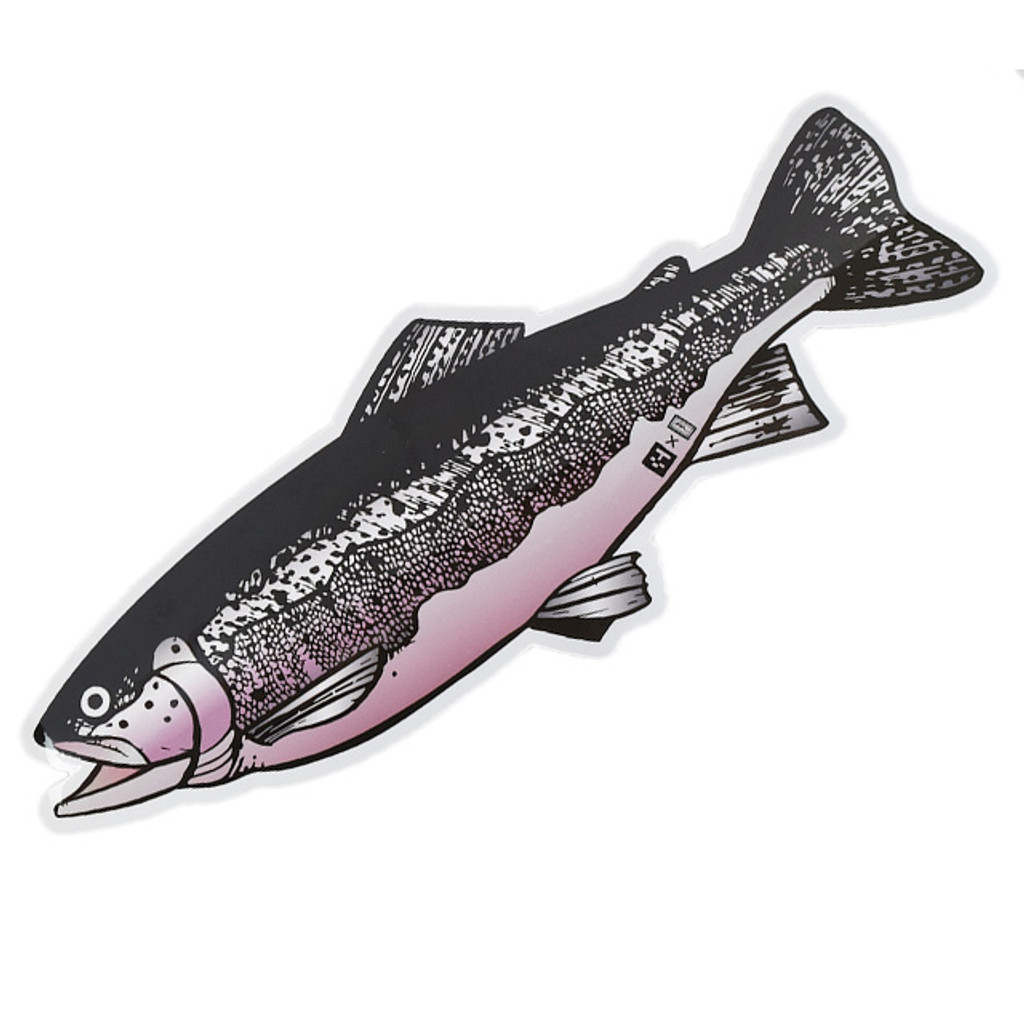 Huerco Rainbow Trout Sticker