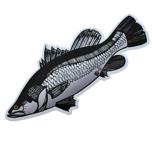 Huerco Barramundi Sticker