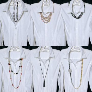 "Do you ever look at your closet and think: ""It's a White Shirt Kinda Day, but I need some new STYLE ideas!"""