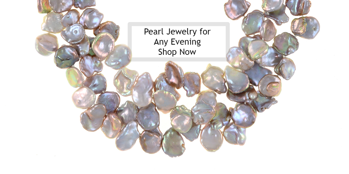 Genuine Freshwater Pearl Jewelry for any Woman to enjoy, when she is out and about enjoying her social life! Naughton Braun re-imagined real Pearl Necklaces, Pearl Bracelets, & Pearl Earrings will accentuate any outfit when venturing out for an evening ev