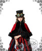Model Show (Red Wool + Black Fur Ver.) (hat: P00587, JSK: DR00112N, blouse: TP00142, fan: P00580) NOT available
