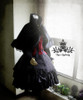 Co-ordinate show (Black Wool+ black fur) (dress DR00115N, vest CT00246)