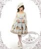 Model Show (White + Light Grey Ver.) (hat: P00574, choker: AD00572, blouse: TP00142, fan: P00580, leggings: P00419)