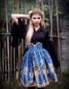 Model Show (Dark Blue Version) blouse TP00152 birdcage petticoat UN00027