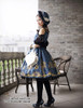 Model Show (Dark Blue Ver.) Dress DR00190, tote P00613