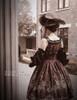 Model Show (Burgundy Ver.) Dress DR00190, gloves P00581