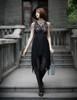 Model Show dress DR00227, tote P00618