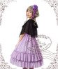 Model Show (Lilac Ver.) (cape: TP00104, dress: DR00113, birdcage petticoat: UN00019)
