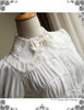New Romantic Gothic Lolita Rococo Pleated Bust Long Sleeves Blouse*2colors Instant Shipping