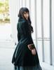 Pirate Lolita Dandy False 2pcs Thick Velvet Jacket Long Coat*2colors Lady Version