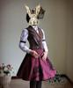 Co-ordinate show beret P00406, skirt SP00167, bloomers UN00024, blouse TP00146