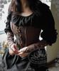 Model Show (Deep Brown Ver.) (dress: DR00146, Sleevelets: P00597)