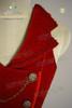 Detail View (Red Velveteen)