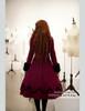 Model View: corset dress DR00066R, inside dress DR00187