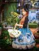 Model Show (Misty Blue Ver.) (dress set: DR00182, blouse: TP00137, birdcage petticoat: UN00019)