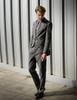 Model Show  (Grey Blend Version) jacket CT00020N pants SP00020N