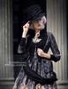 Model Show (Black + Grey Ver.) (hat & sash set: P00614, blouse: TP00125N, dress: DR00189)