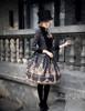 Model Show (Black + Grey Ver.) (hat: P00614, blouse: TP00125N, dress: DR00189, leggings: P00182)