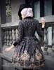 Model Show (Black + Grey Ver.) (hat: P00614, blouse: TP00125N, dress: DR00189)