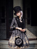 Model Show (Black + Grey Ver.) (hat & sash set: P00614, jacket: CT00268, blouse: TP00125N, tote: P00583)