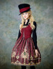 Model Show (Redish black+Burgundy Version) blouse TP00125N hat P00614 jacket  CT00268