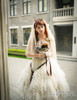 Model Show (crown & veil: P00623, corset: Y00041, bouquet: P00620)