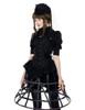 Model View  birdcage petticoat UN00028 bloomers UN00025 shrug CT00229N