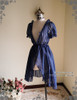 Outside Dress Front View (Dark Blue Ver.)