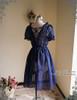 Outside Dress Back View (Dark Blue Ver.)