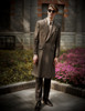 Model Show (Light Brown & Grey Mixed Version) coat CT00269 blouse TP00149M