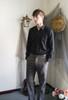 Model Show (Light Brown & Grey Mixed Version) Shirt D00024