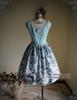 Front View w/o Sash (Pale Blue + Mint Blue Chiffon Ver.) (birdcage petticoat: UN00027)