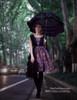 Model Show  (Pale Purple + Black Chiffon Ver.) petticoat inside UN00027