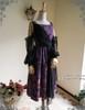 Front View w/o Skirt Piece (Pale Purple + Black Chiffon Ver.)