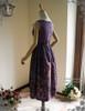 Back View w/o Skirt Piece & Sleeves (Pale Purple + Black Chiffon Ver.)