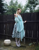 Model Show (Pale Blue + Mint Blue Chiffon Ver.)