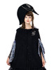 Model Show (black version) dress DR00128N Hoodie Mantle/Cape CT00266
