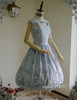 Front View (Antique Blue + Divine Grey Ver.) (grey tulle petticoat from DR00196)