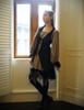 Model Show (Antique Grey + Black Jagged Knitting Fabric Version)