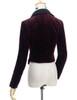 Back View w/o Skirt Piece (Burgundy Version)